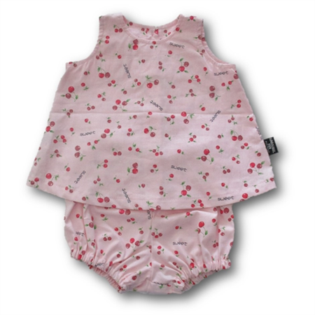 CLEARANCE... Sweet Cherries Baby Cotton Swing Set FREE POST