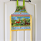 Kids/Toddlers Apron Woodland Friends - lined cotton kitchen/craft/play apron