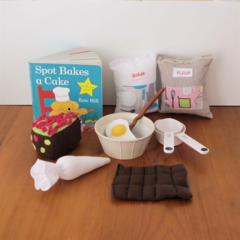 Bake a Cake Book and Reading Resource