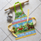 Kids/Toddlers Apron Woodland Friends - lined kitchen/craft/play apron - animals