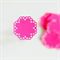 Hot Pink Envelope Seals | Pink Doily Stickers | Sweet 16