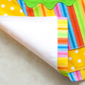 Kids/Toddlers Apron Cupcake - lined apron - cupcake pocket