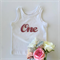 ONE PINK Glitter DIY iron on, heat vinyl transfer applique decal