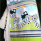 Trains in the Country Sherpa Fleece Rug