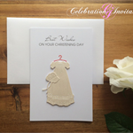 Christening Card (Gown)