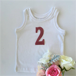 '2' PINK DIY iron on,  two heat vinyl transfer applique decal
