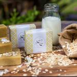 Handmade Olive oil and Goatmilk soap - Oatmeal