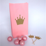 Crown Cupcake Toppers x 12