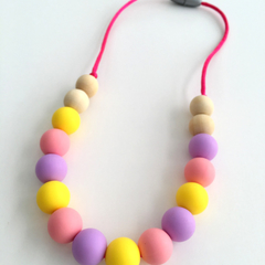 Washable Silicone Necklace for Kids EASTER EDITION - Mini-Fox Kids Range