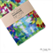 Spring Watercolour Fabric Covered Notebook