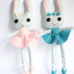 Ballerina Bunny made to order