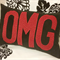 Set of OMG & LOL cushions