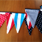 Flags are flying bunting