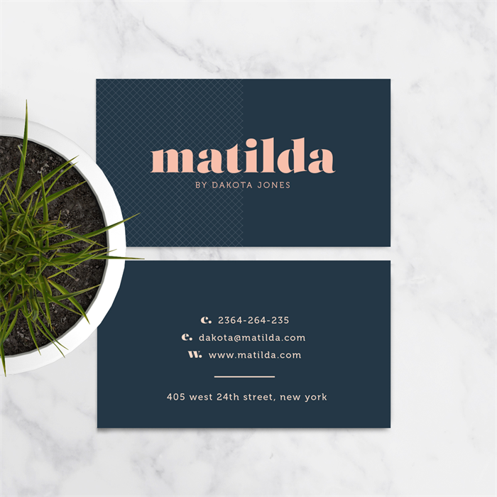 Business card design matilda a bold modern graphic design business card design matilda a bold modern graphic design reheart Gallery