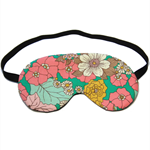 Vintage Style Flower Eye Mask Sleeping Mask