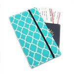Aqua Diamond Travel Wallet / Family Travel Wallet / Travel Organiser