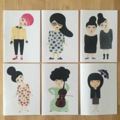 Big Hair Girls series