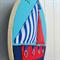 """Gone Sailing"" 3D hoop art"