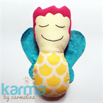 Fairy Softy Cuddly Doll Yellow Blue Pink