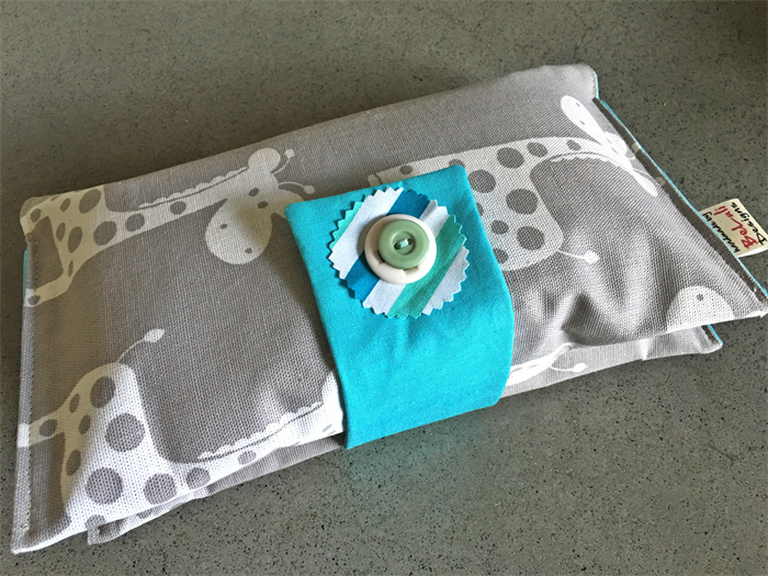 how to make a nappy wallet