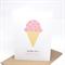 Birthday Card Girl - Strawberry Icecream with Sprinkles - HBC181