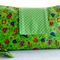Nappy Wallet - Ladybugs on Green