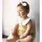 Size 1 - Princess Rose Floral  halter neck Romper Playsuit with Peter Pan Collar
