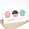Birthday Card Girl - Cupcakes with Sprinkles - HBC182