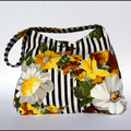 Vintage Flower Shoulder Bag