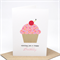 Birthday Card Girl - Pink Cupcake with Cherry - HBC184