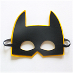 Yellow Batmask