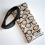 Padded Sunglass Pouch in Spectacle Fabric