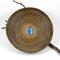 "Handwoven Pine Needle Spiritual Healing Basket ~ ""Sapphire Seas"""