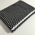 Changing Pad - Waterproof and Washable Mat - Triangles white Black and gold