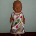 Dolls Satin Nightie fits 48cm dolls