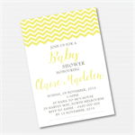 Chevron Printable Custom Invitation