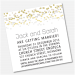 Confetti Printable Custom Invitation