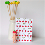 Cherries Card.Blank. Free Post.