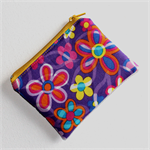Little Coin Purse with Colourful Floral Fabric