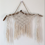 """Knotted Hangs"" Macrame Wall Hanging"