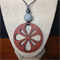 Laser Cut Pendant handcrafted from Jarrah