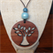 Laser Cut Tree of Life Pendant handcrafted from Jarrah