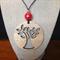 Laser Cut Tree of Life Pendant handcrafted from Tasmanian Oak