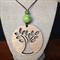 Laser Cut Tree of Life Tasmanian oak Pendant