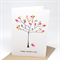 Mother's Day Card - Tree with Polkadot Leaves - HMD011