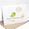Birthday Card Female - Green Bird on Branch - HBF142