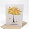 Birthday Card Female - Orange Blossom Tree - HBF145