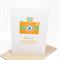 Bon Voyage Card - Orange Camera - BON010