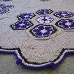 African flower rug