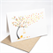 Blank Card - Autumn Fall Tree with Birdcage - BLA042